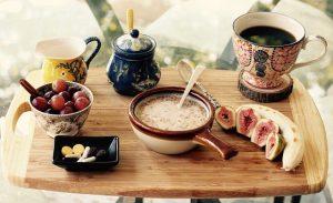 raňajky káva